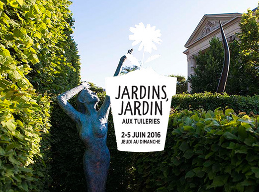 Jardins jardin 2016 aux tuileries paris for Jardins paris 2015